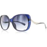 Tmavě modré sluneční brýle Deoro