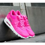 Nike Air Max 90 Leather GS Pink Pow/ White US 5