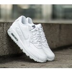 Nike Air Max 90 Leather (GS) White/ Cool Grey US 6