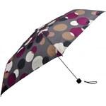 Doppler Dámský skládací mechanický deštník Party Dots - růžový 722365D-1