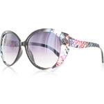 Černo-růžové sluneční brýle Fatima