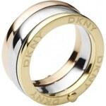 DKNY Tricolor prsten z oceli NJ1826040 59 mm