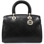 NUCELLE dámská kožená kabelka New černá