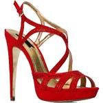 Blink - Sandály na podpatku - červená