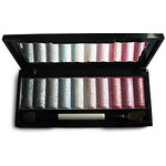 LightInTheBox Soft Shimmer 10 Colors Makeup Eye Shadow Palette with Free Brush