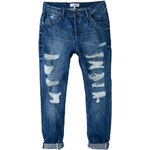 Mango ANGIE Jeans Relaxed Fit dark blue