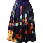 CHICWISH Dámská sukně Midi Neon Light Velikost: M