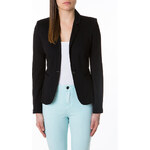 Tally Weijl Black Structured Jersey Blazer