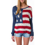 "Tally Weijl ""USA"" Knitted Jumper"
