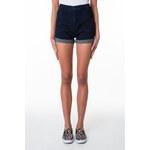Tally Weijl Dark Blue Turn Up Denim Shorts
