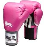 Boxerské rukavice Lonsdale Pro růžová