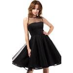 Černé šaty MOE 148 L