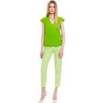 Simple - Kalhoty - světle zelená