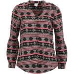 Černo-růžová košile s aztéckým vzorem Vero Moda Amsterdam