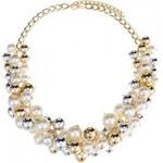 Náhrdelník Samira s perlami zlatý C18025