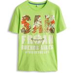 Esprit Žerzejové tričko s potiskem, 100% bavlna