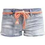 ONLY ONLCARRIE Jeans Shorts medium blue