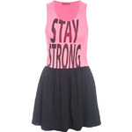 Terranova Sleeveless dress with writing