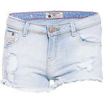 Terranova Ripped denim shorts