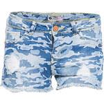 Terranova Camouflage denim shorts
