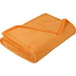 Bellatex micro deka oranžová 150x200