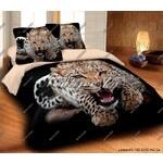 Matějovský povlečení Leopard wild bavlna 140x200 plus 70x90