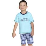 Taro Dětské pyžamo s autem modré 110