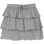 Lee Cooper Ra Ra Skirt Junior Girls, grey marl