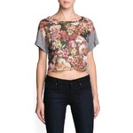 Mango Combi cropped top