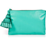 Anya Hindmarch Leather Giorgiana Tassel Clutch