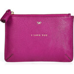 Anya Hindmarch Leather I Love You Pouch
