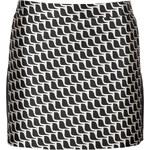 Tara Jarmon Silk Blend Mini-Skirt