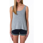 Tally Weijl Grey Top with Metallic Sequined Back