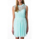 Tally Weijl Mint Green Lace Skater Dress