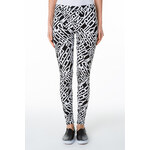 "Tally Weijl Monochrome ""Cities"" Print Leggings"