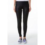 Tally Weijl Black Wet Look Leggings with Side Zips