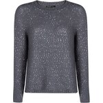 Mango Sequined mohair-blend sweater