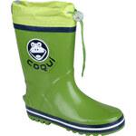 Coqui Chlapecké holínky Ronie zelená/tmavě modrá