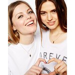 ASOS Best Friends Partners In Crime Necklaces - Gold