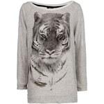 Mango Rhinestone tiger sweatshirt