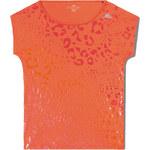 adidas CLIMA TRAINING GRAPHIC TEE oranžová XS