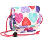 Esprit Textilní peněženka s natištěným srdcem