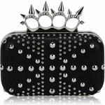 LS Fashion společenská kabelka LS0185 černá