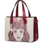 Just Star dámská kabelka Fashion růžová