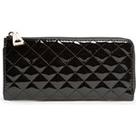 Mango QUILTED PATENT WALLET