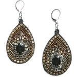Mango Beads velvet earrings