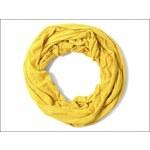 Pružný žlutý nákrčník