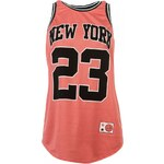 Rock and Rags Basketball Vest, coral