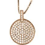 Beneto Bronzový náhrdelník s krystaly AGS84/45