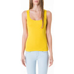 Tally Weijl Yellow Basic Vest Top